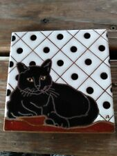 Cat Tile, made in Italy