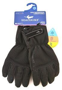 Sealskinz Brecon XP Thermal Full Finger Gloves Women XL Waterproof Black Bike