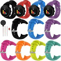 Silicone Wrist Band Strap for SUUNTO SPARTAN ULTRA GPS Watch + Tool Replacement