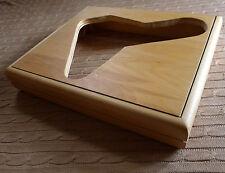 Acoustic Research ar el plato giratorio, Modelo ES-1, base de arce sólido