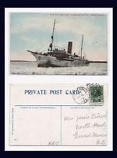 PRINCE EDWARD ISLAND ICE BREAKER EARL GRAY 1912 TO JESSIE DIXON GRAND MANAN NB