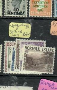 NORFOLK  ISLAND  (P2003B)  SG 13-18   MOG