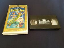 Walt Disney's Masterpiece PETER PAN (VHS 1998, 45th Anniversary Limited Edition)