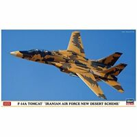 Hasegawa 1/72 F-14A Tomcat Iran Air Force New Desert scheme Model Kit NEW Japan