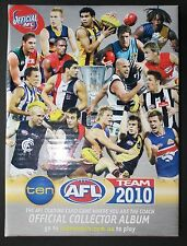 2010 TeamCoach Full Base set in Album 198 cards Captains & Checklists Team Coach