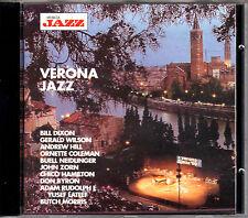 vvaa VERONA JAZZ CD RARE live tracks JOHN ZORN BILL DIXON ANDREW HILL COLEMAN