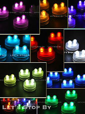 LED Bright Dual Floral Tea Submersible Light Floralyte Party Wedding Centerpiece