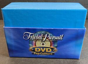 Trivial Pursuit DVD Pop Culture Edition- Trivia Cards ONLY - REPLACEMENT PARTS