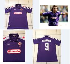 Fiorentina Batistuta Camisa 1998 Jersey Italia Fútbol Grande Retro Argentina