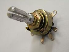 Miniature Panel Pot Potentiometer 10KD 6mm Spline spindle SPST Switched EX36
