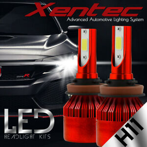 XENTEC LED HID Headlight Conversion kit H11 6000K for Nissan Maxima 2009-2017