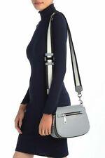 Marc Jacobs Gotham Nomad Leather Crossbody Bag - Rock Gray~Dust bag ~NWT