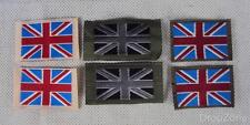 5 x Pairs British Military Army TRF Union Jack Badges Patches, 3 Colours