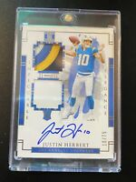 Impeccable Justin Herbert RPA auto 10/99.  25 spot Chase! 2 hits PLEASE READ!!