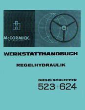 Werkstatthandbuch Regelhydraulik IHC 523 624 auch für 724 824 Hydraulik