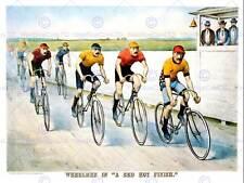 Sport Memorabilia Cycling Bicycle Racing Vintage Usa Vintage Advert Print 2078Py