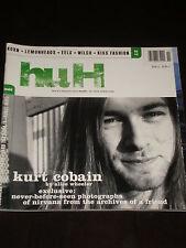 Huh magazine #27, Kurt Cobain, Nirvana, Korn, Lemonheads, eels, Wilco, KISS RARE