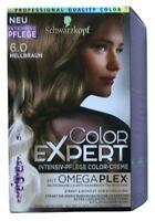 Schwarzkopf Color Expert 6.0 Hellbraun mit Intensiver Pflege