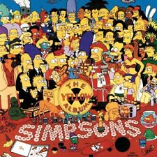 The Simpsons - The Yellow Album - The Simpsons CD OBVG The Cheap Fast Free Post