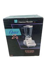 NEW VTG NOS Oster Osterizer Designer Cycle Blend Blender 8 Speed #887-20 Sealed