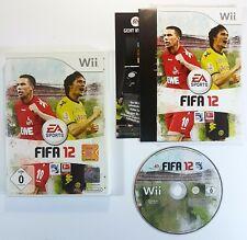 Nintendo Wii Spiel EA SPORTS FIFA 12 dt. PAL Ovp