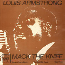 """LOUIS ARMSTRONG - Mack The Knife (1962 VINYL EP 7"""" DUTCH PS)"""