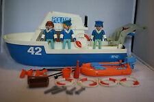 Playmobil 3539 POLIZEIBOOT Police Boat