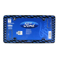 New Blue Ford Logo Front / Rear Car Truck License Plate Frame Official Licensed