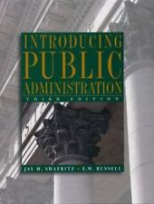 Introducing Public Administration 3rd Ed *LOW LOW PRICE* FREE SHIPPING