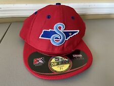 Tennessee Smokies New Era Authentic 59FIFTY Fitted Hat Size Low Crown 7 3/8 EUC
