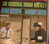 GENE KRUPA & BUDDY RICH The Original Drum Battle LP Verve JAZZ Shrinkwrap