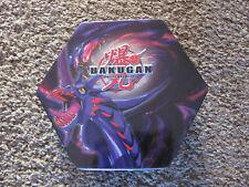Bakugan Battle Brawlers Tin w/ 2 Black Trays Inserts (No Balls)
