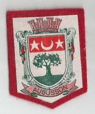 ECUSSON A COUDRE AUBUSSON 23 CREUSE 6X5 CM