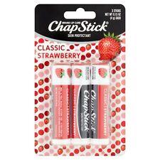 ChapStick Skin Protectant Lip Balm, Classic Strawberry