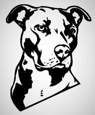 Pitbull Portrait American Staffordshire Terrier Dog Pet Love Decal Sticker
