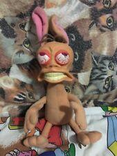 Rude Toot Ren Plush Stuffed Animal 1992 Nickelodeon