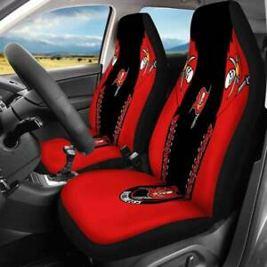 Tampa Bay Buccaneers Car Seat Cover 3D Universal Fit Nonslip Auto Seat Protector