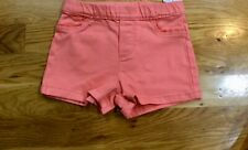 Carter girls orange shorts - size 5T - New With Tags!