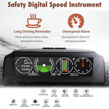 Smart GPS Multi-functional Horizontal Speedometer Voltmeter Slope For Driving