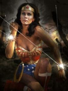 """Wonder Woman Behind Enemy Lines Limited Giclee Print Art Poster #150 18"""" x 24"""""""