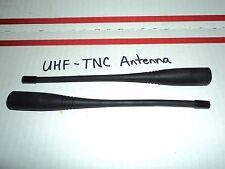 LOT 2 UHF 400-512 MHz TNC Antenna  Kenwood TK-378 USA SHIPPING & TNC UHF Radio