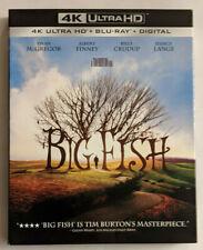 Big Fish (4K Disc, Blu-ray) W/ Slipcover