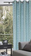 Ösenschal 140x245cm blau Dekoschal Gardine Vorhang Orta