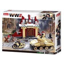 Sluban Kids Army Building Stalingrad Building Toy Blocks WWII Series Battle