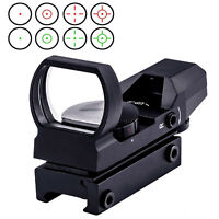 Green Red Dot Sight Scope Tactical Optics Rifle Scope Fit 11/20mm rail Mount