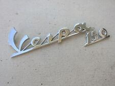 Chrome Piaggio Vespa 150 VNA VNB VBA VBB VBC Emblem Badge Logo Pre-bolted Nuts