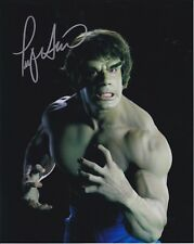 Lou Ferrigno The Hulk autographed 8x10 photograph RP