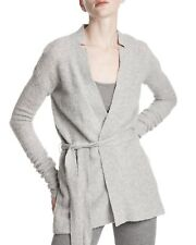 $425 ATM Anthony Thomas Melillo Cashmere Belted Cardigan Sweater Jumper New NWT
