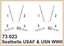 EDUARD MODELS 1/72 Aircraft- Seatbelts Fabric-Type USAAF & USN WWII (P EDU73023