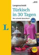 Langenscheidt Türkisch in 30 Tagen - Der Sprachkurs für Anfänger und Wiedereinsteiger von Brigitte Moser-Weithmann und Nevra Ünver-Lischewski (2014, Set mit diversen Artikeln)